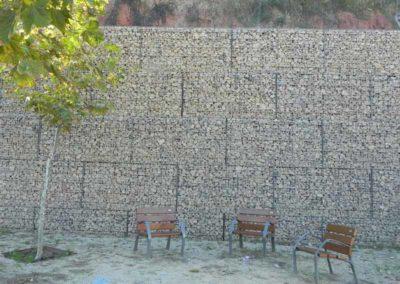 Gaviones, proyecto con gaviones, Baver Martorell