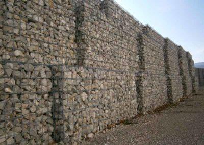 Gaviones, proyecto con gaviones, St Esteve Sesoliveres