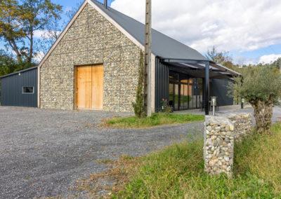 Gaviones, proyectos con gaviones, revestimiento serie minor, Bodegas Francia