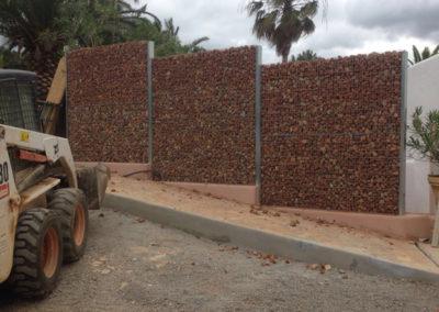 Gaviones, proyectos con gaviones, Serie Garden Cerramientos